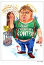 Cartoon: Theo van Gogh (small) by jean gouders cartoons tagged theo,van,gogh,jean,gouders