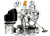 Cartoon: Unsportliches verhalten (small) by jean gouders cartoons tagged sport,fussbal,jean,gouders