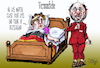 Cartoon: Vernunftehe (small) by jean gouders cartoons tagged merkel,schulz,spd,cdu,coaliton