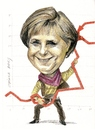 Cartoon: Angela Merkel (small) by Otilia Bors tagged angela,merkel
