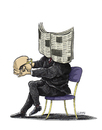 Cartoon: Investigacion a fondo (small) by lloyy tagged politics politica prensa libertad expresion