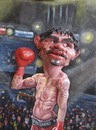 Cartoon: Manny Pacquiao (small) by lloyy tagged manny,pacquiao,pacman,the,destroyer,philipine,boxer,famous,people