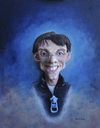 Cartoon: portraitpitch (small) by lloyy tagged portraitpitch 3d real caricature