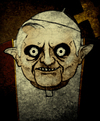 Cartoon: Pope (small) by Hentamten tagged pope ratzinger