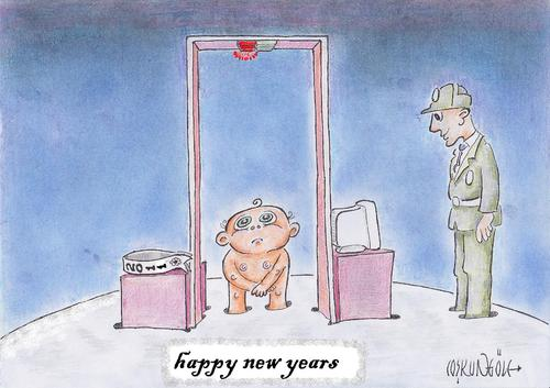 Cartoon: happy new years (medium) by coskungole58 tagged happy,new,years
