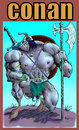 Cartoon: conan comics color (small) by aceratur tagged conan,comics,color