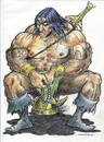 Cartoon: conan zade (small) by aceratur tagged conan,zade