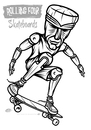 Cartoon: Tiki-Skater2 (small) by elle62 tagged tiki,skateboard,sport