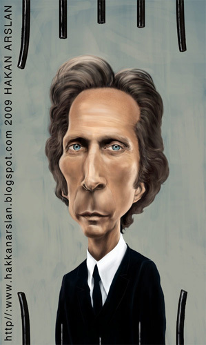 Cartoon: alexander mahone (medium) by hakanarslan tagged prison,break,mahone