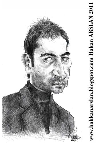 Cartoon: Ezel (medium) by hakanarslan tagged imirzalioglu,kenan,dizi,ezel,ramiz,dayi,hakan,arslan,caricature