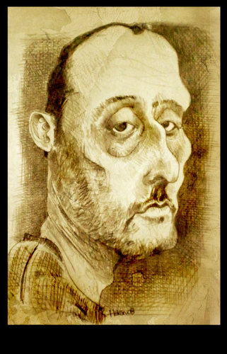 Cartoon: reno 19 (medium) by hakanarslan tagged jean,reno,19