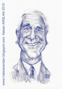 Cartoon: leslie nielsen (small) by hakanarslan tagged ciplak,silah,rahmetli