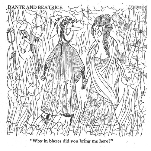 Cartoon: Dante (medium) by LAINO tagged dante