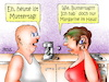 Cartoon: Muttertag (small) by besscartoon tagged mann,frau,paar,beziehung,ehe,muttertag,buttertag,schwerhörig,hören,bess,besscartoon