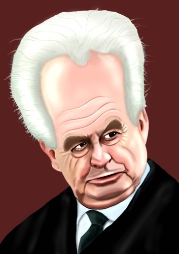 Cartoon: Milos Zeman (medium) by Vlado Mach tagged political,dinosaurus