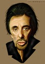 Cartoon: Al Pacino (small) by Vlado Mach tagged al,pacino,actor,movie