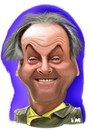Cartoon: Jack Nicholson (small) by Vlado Mach tagged actor,movie,jack,nicholson