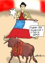 Cartoon: chile y espana (small) by lucholuna tagged chile,brazil