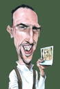 Cartoon: Frank Ribery (small) by Eno tagged frank ribery zahia foot caricature