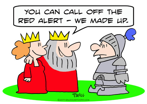 Cartoon: alert red king queen  made up (medium) by rmay tagged alert,up,made,queen,king,red