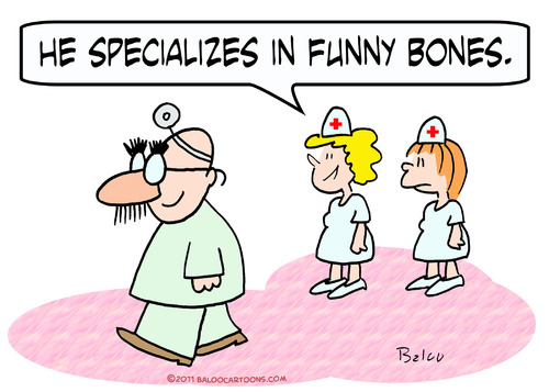 Cartoon: bones funny doctor specializes (medium) by rmay tagged bones,funny,doctor,specializes