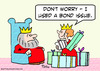 Cartoon: bond issue king queen shopping (small) by rmay tagged bond,issue,king,queen,shopping