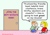 Cartoon: boy scouts look good resume (small) by rmay tagged boy,scouts,look,good,resume