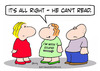 Cartoon: cant read Im with stupid shirt (small) by rmay tagged cant,read,im,with,stupid,shirt