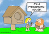 Cartoon: cavewoman pterodactyl house (small) by rmay tagged cavewoman pterodactyl house