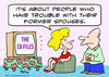 Cartoon: ex files tv former spouses x (small) by rmay tagged ex,files,tv,former,spouses