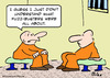 Cartoon: fuzz busters prisoners jail (small) by rmay tagged fuzz,busters,prisoners,jail