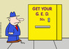 Cartoon: get your GED vending machine (small) by rmay tagged get,your,ged,vending,machine