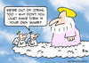 Cartoon: god own image angels create (small) by rmay tagged god,own,image,angels,create