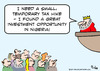 Cartoon: investement opportunity Nigeria (small) by rmay tagged investement,opportunity,nigeria,king,taxes