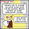 Cartoon: SUGsperminator MOVIES schwarzene (small) by rmay tagged sperminator,movies,schwarzenegger,arnold,terminator