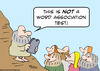 Cartoon: word association moses (small) by rmay tagged word,association,moses